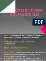 FACTORES DE RIESGO PRESENTACION