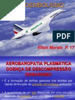 6 aula - Aeroembolismo, Fadiga Aerea e Ritmo Circadiano [Salvo automaticamente].ppt