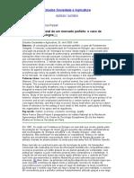 GARCIA, 2003. A construção social de um mercado perfeito; o caso de Fontaines-en-Sologne
