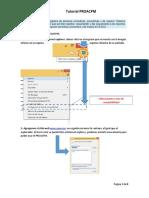 tutorial PROACPM