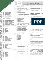 Física - Preguntas de Opción Múltiple - Magnitud y Medición