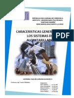 caracteristicas de los sistemas de alcantarillado