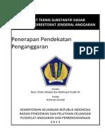 07 BUDGET Penerapan Pendekatan Penganggaran_2012