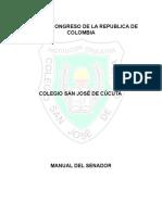 manual del senador.