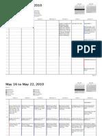 Final USMLE Schedule