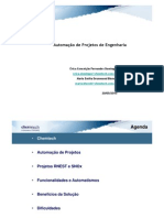 COMOS@CHEMTECH Estrategias de Automacao de Projetos Integradas Projetos CAPEX