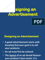 ICT- Designing an Advertisement