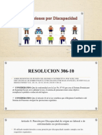 Pensiones Por Discapacidad. GRUPO 4