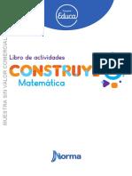 Libro de actividades  matematica 3ro primaria