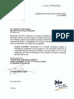 Modificación al estatuto general de la UNAM y al reglamento del Tribunal Universitario y de la Comisión de Honor
