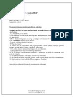 Recomendaciones Para Endoscopia Alta c Sedacion
