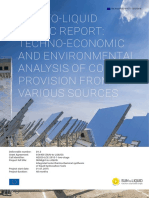 Techno economic and environmental analysis of CO2 provision from various sources