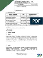 Plan de Area TECNOLOGIA, INFORMATICA Y EMPRENDIMIENTO 2019