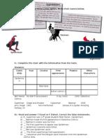 Superheroes Worksheet