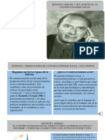 presentacion de KENNETH J. GERGEN PADRE DEL CONSTRUCCIONISMO SOCIAL