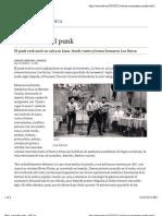 Perú, cuna del punk - ABC.es