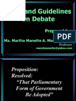 rules andguide lines on debate competition.ppt