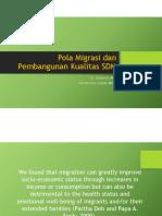 Pak Sukamdi_Pola Migrasi dan Pembangunan Kualitas SDM