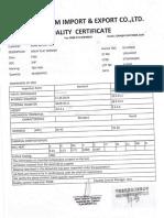 arandela 3l4 certificado