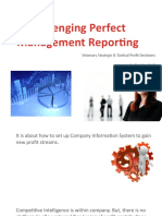 Business Intelligence Manifest - Challenging Perfect  Management Reporting