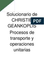 solucionario procesos de transporte y operaciones unitarias geankoplis