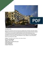 manila hotel and star city.docx