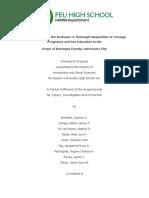 [PROGRESS] III Research Paper