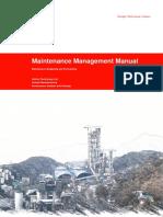 MMM - Maintenance budgeting and forecasting v.1 rev.3
