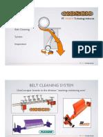 1. Belt Cleaner Inspection