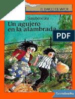 Un agujero en la alambrada - Francois Sautereau