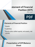 Statement of Financial Position (SFP)