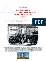 Landi Nicola. A Report on Napolitan Artillery and Ordnance. 1835