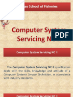 Competencies of Computer System Servicing