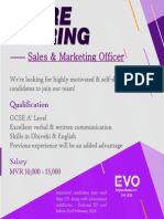 Sales & Marketing Officer (4)