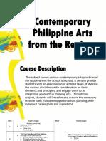 1 - Intro to Arts