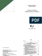 Feijoo Sánchez, Bernardo. Cuestiones actuales de Derecho Penal Económico