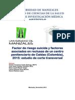Fr suicida en reclusas