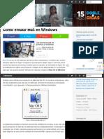 Cómo emular Mac en Windows