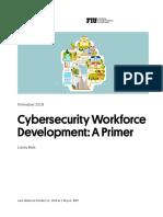Cybersecurity Workforce Development - A Primer | New America November 2018