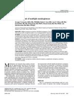 [19330693 - Journal of Neurosurgery] Management of multiple meningiomas.pdf