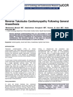 Reverse Takotsubo Cardiomyopathy Following General Anaesthesia