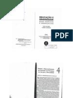 Educação e Diversidade_Bases Didáticas e Organizativas