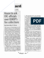 Manila Standard, Feb. 12, 2020, House to ask ERC officials over IEMOP's fee collections.pdf