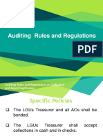 3. Auditing  Rules and Regulations - COA