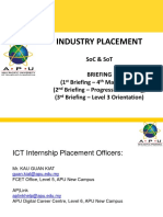 1808 1st Industry Placement Brief