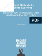 [Machine Learning Mastery] Jason Brownlee - Statistical Methods for Machine Learning (0)