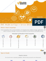 AWS - Gaps in Service Delivery