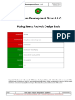 GU-706 - Piping Stress Analysis Design Basis.pdf