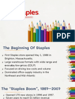 Marketing Strategy - Staples