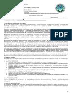 Programa del curso Tecnicas de Investigación